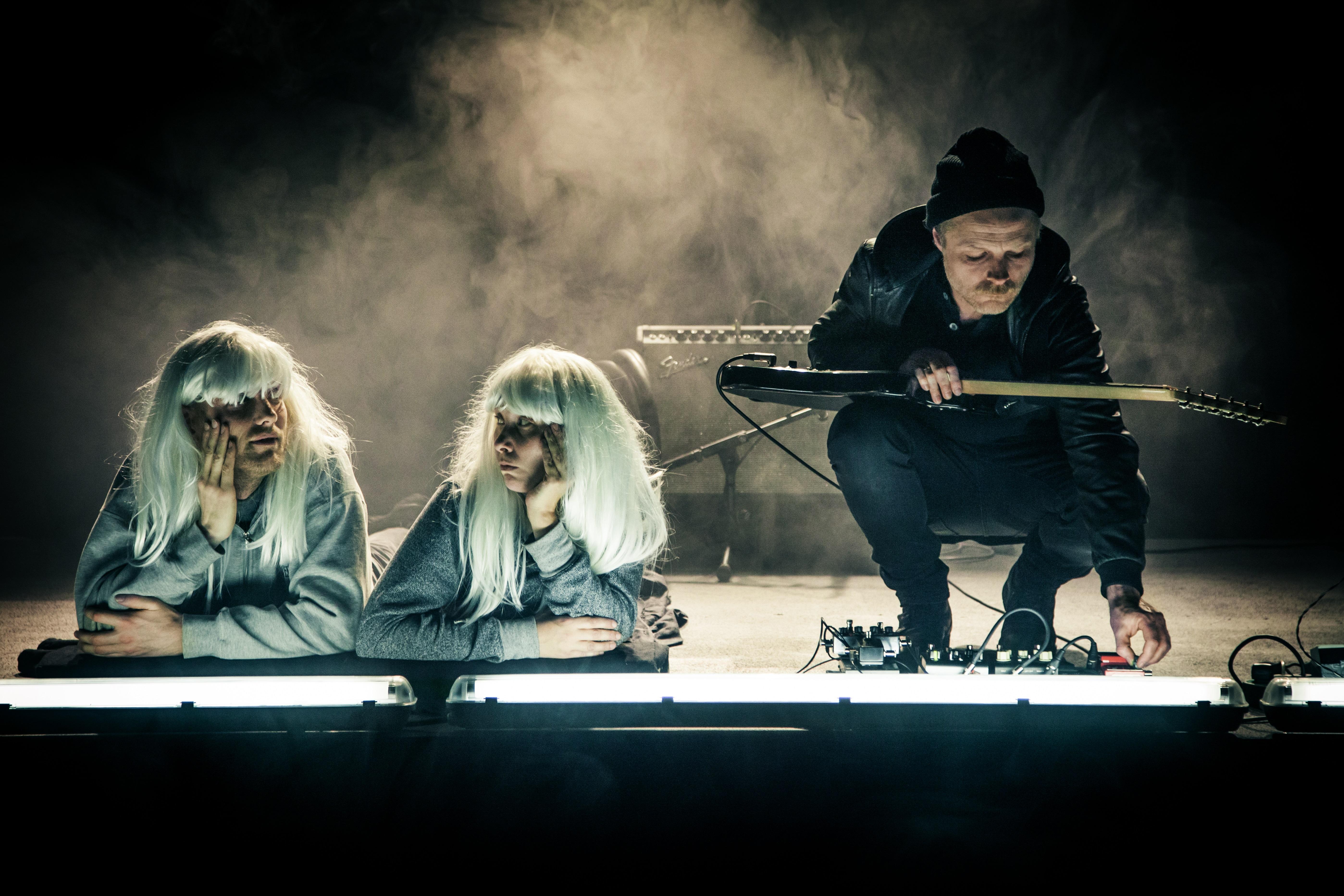 """Teater V: """"Godt vi har Allan"""" Foto: Daniel Buchwald"""