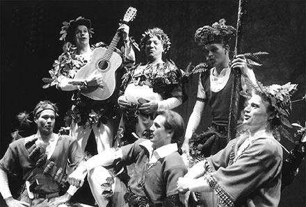 """Aalborg Teater: """"Robin Hood"""" 90/91"""