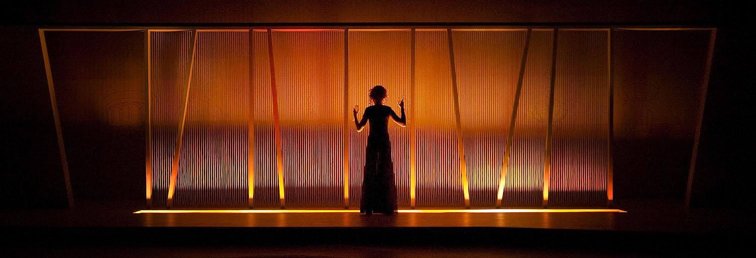 """Århus Teater: """"Idioten"""" Foto: Palle Steen Christensen"""