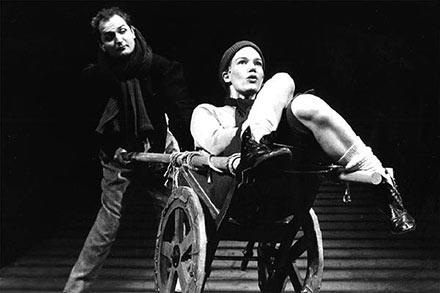 "Dickens: ""Et juleeventyr"" Niels Ellegaard, Hanne Hedelund. Odense Teater 95/96"